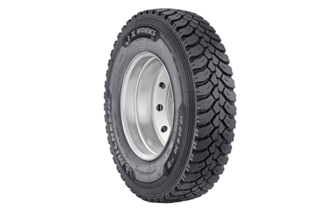 315/80R22.5 Michelin X WORKS HD D 156/150K DRIVE (D,B,2,73dB)