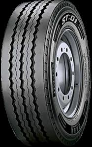 385/55R22.5 Pirelli ST:01 160K TRAILER (B,A,2,73dB)