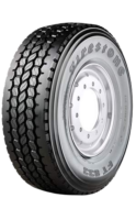 385/65R22.5 Firestone FT833 160K ON/OFF TRAILER (C,B,2,71dB)