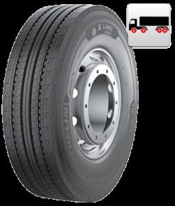 315/60R22.5 Michelin X LINE ENERGY Z 154/148L (B,B,1,70dB)
